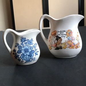 Vintage Syrup Pitchers